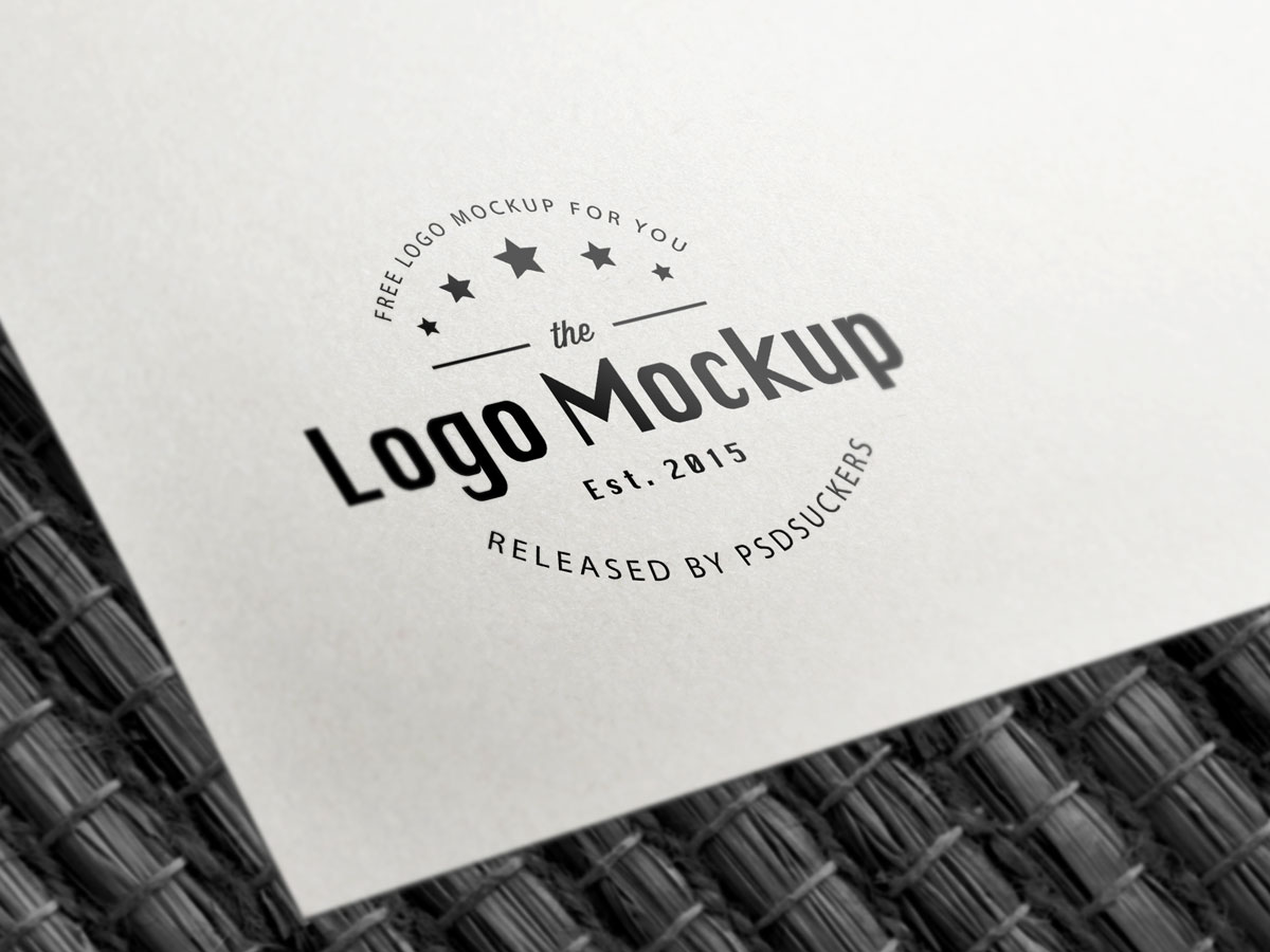 15+ Best Free Logo MockUps to Download in 2017