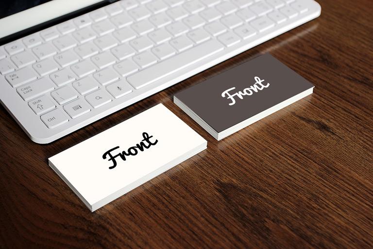 4 amazing free business card mockups