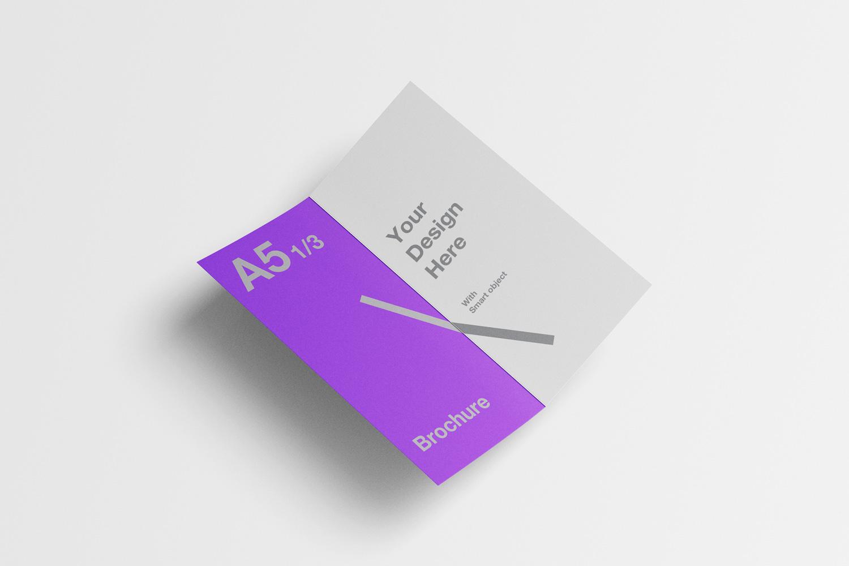 Free A Brochure MockUp Template - Brochure mockup template