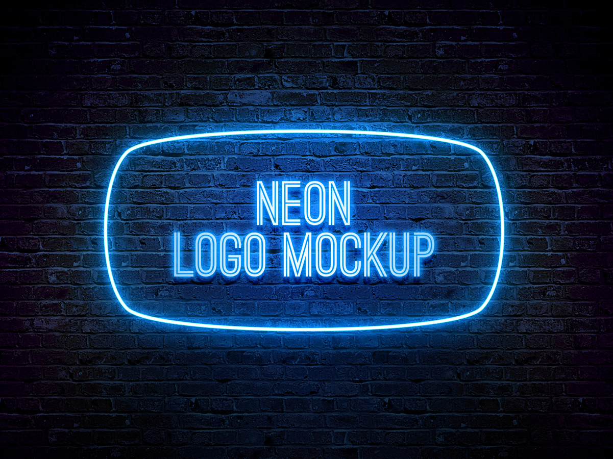 free neon text effect photoshop
